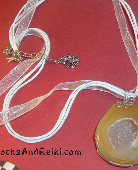 Agate Drusy Necklace