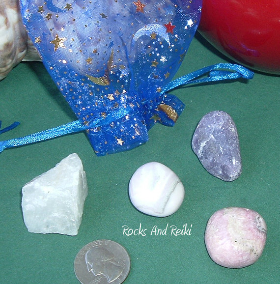 Your Psychic Lover Gemstone Reiki Set