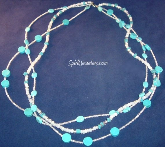 Turquoise Necklace - 3 Strand