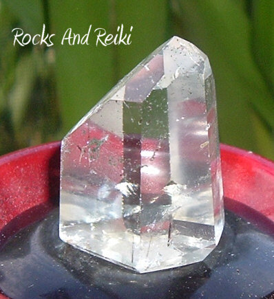 Rutilated Quartz Point