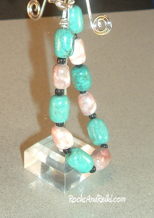 Soothe Your Spirits Reiki Charged Turquoise And Jasper